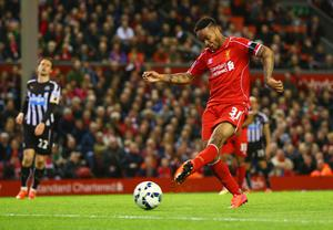 Wanted man: Manchester City have made an increased offer of more than £35.5m for Raheem Sterling