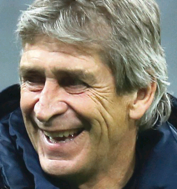 Manuel Pellegrini wants his side to keep scoring