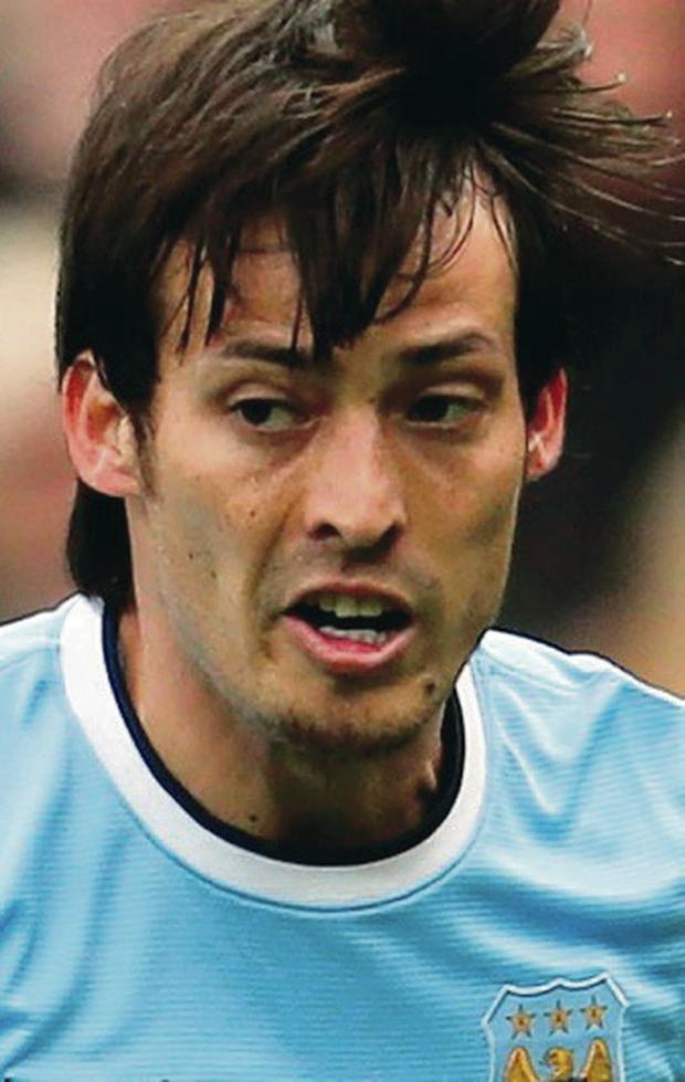 Glory days: David Silva feels City's next two games are vital
