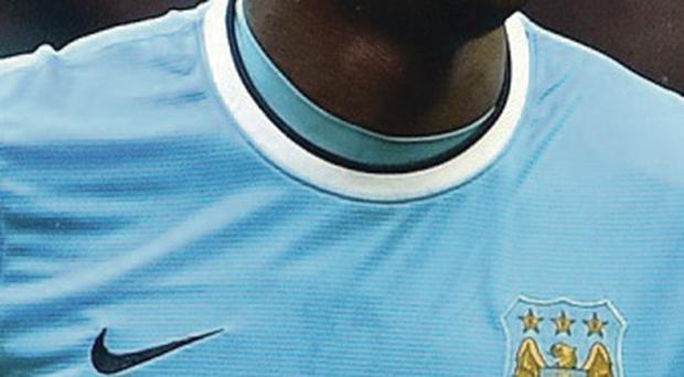 Magic number: Yaya Toure hit his first hat-trick against Fulham