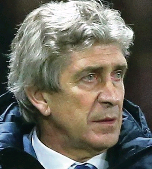 Respectful: Man City manager Manuel Pellegrini