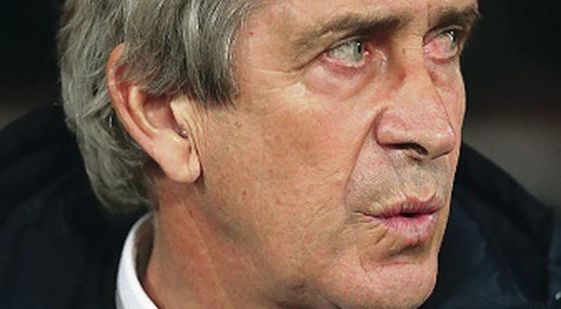 Keeping cool: Manuel Pellegrini refused to enter a war of words