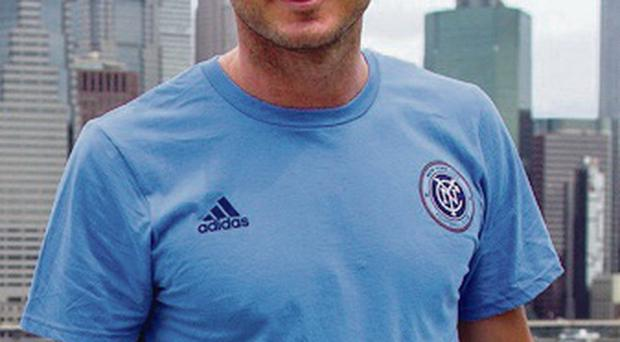 City gent: Frank Lampard will go to Manchester, then New York