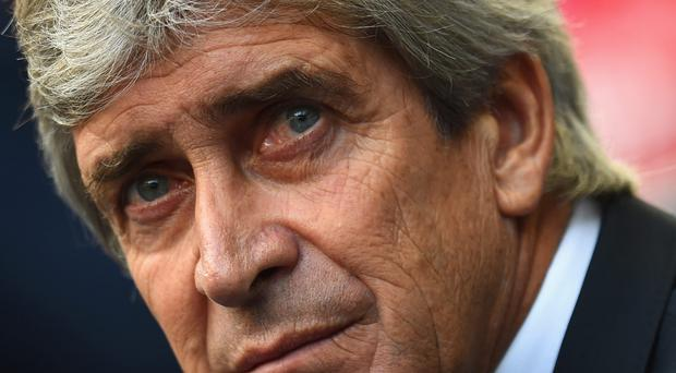 Not perfect: Manuel Pellegrini believes City switched off