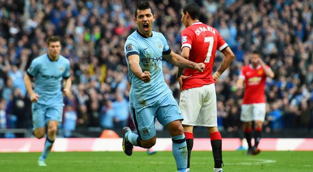 Committed: Sergio Aguero promises to stay at the Etihad