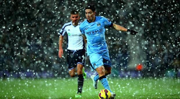 No tiredness: Samir Nasri rejected his manager's claim