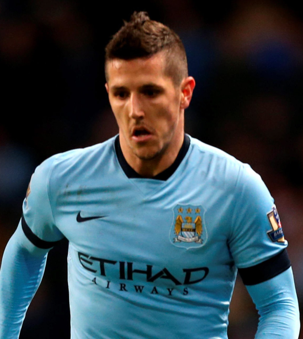 Stevan Jovetic has not featured regularly for Man City