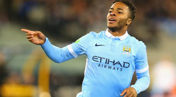 Under spotlight: Raheem Sterling makes his debut for Man City against West Brom tonight