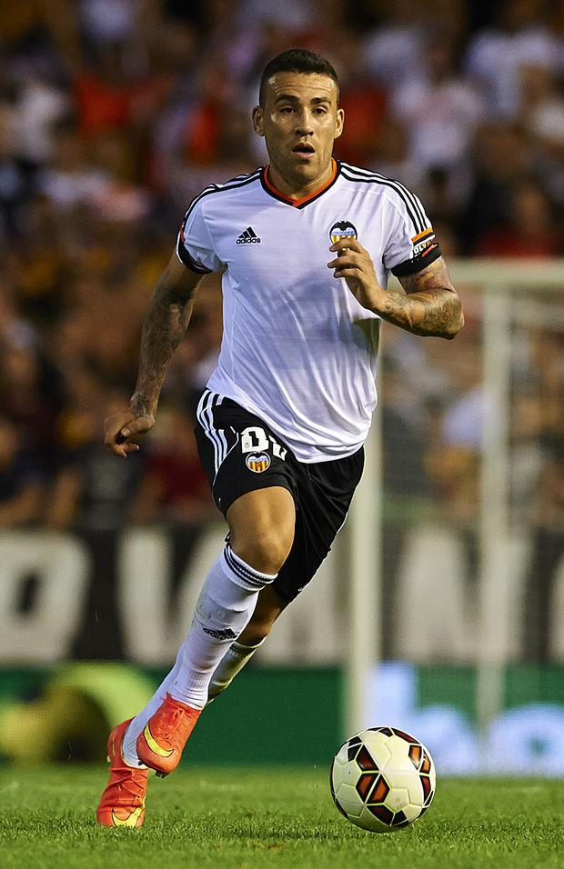 New blue: Nicolas Otamendi could make his Manchester City debut at Everton