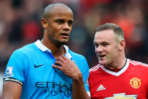 Blue wall: Vincent Kompany