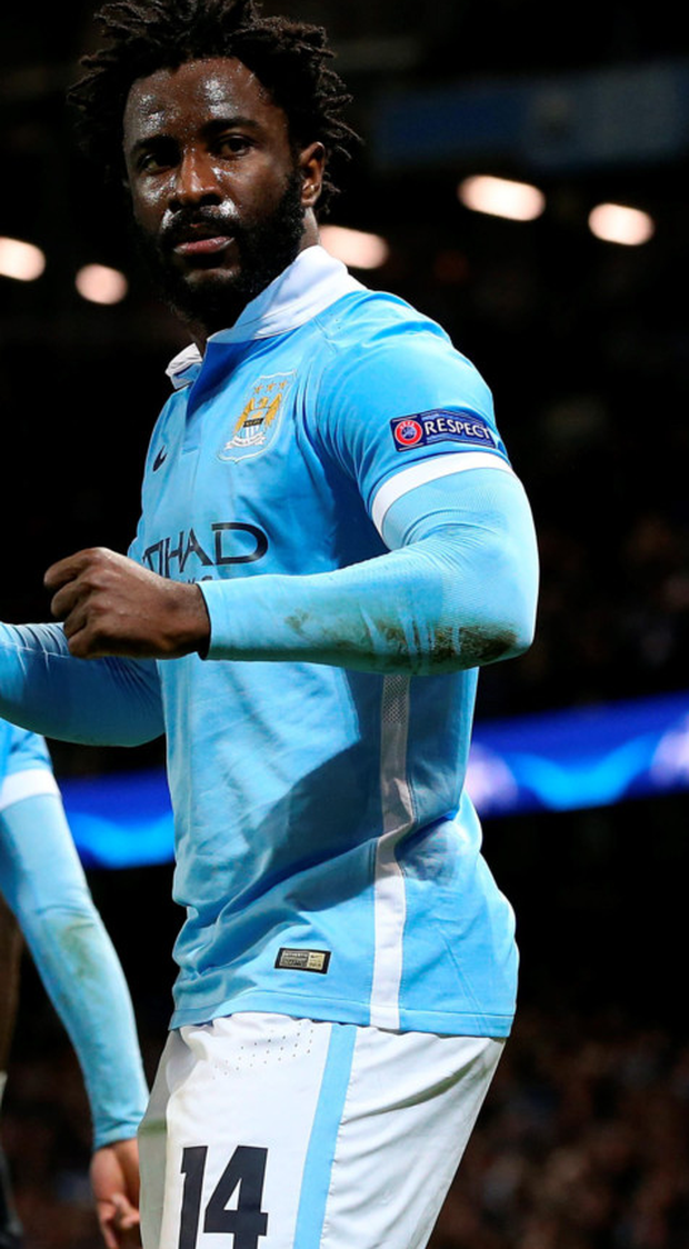 Pick me: Wilfried Bony has pledged to do his best at City
