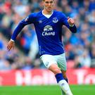 In demand: Manchester City are eager to sign Everton ace John Stones