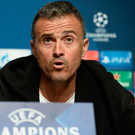 Wary: Luis Enrique knows City will cause Barcelona trouble