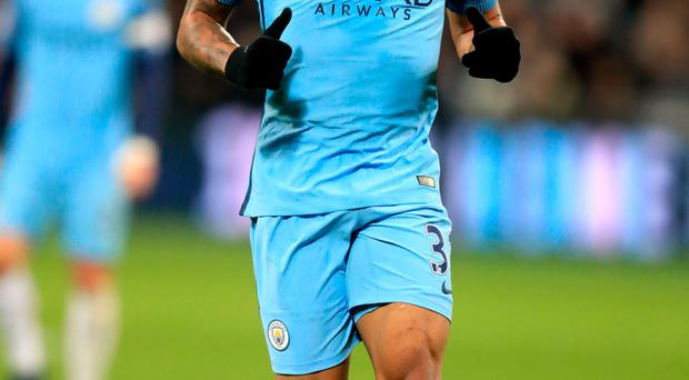 Off to a flyer: Manchester City's Gabriel Jesus