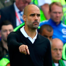 Spolit for choice: Manchester City manager Pep Guardiola