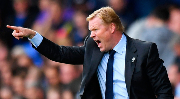 Dutch master: Ronald Koeman is hoping to get one over old pal