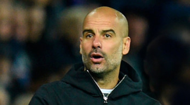 Boss man: Guardiola has no intention of working until he's in his 70s