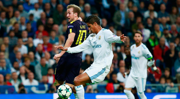 Harry Kane's performance against Real Madrid was reportedly being watched closely by Barcelona.