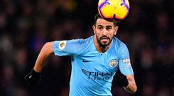 Paying respect: Riyad Mahrez is taking nothing for granted