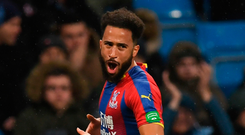 Top strike: Andros Townsend scored the 'best goal' of his career