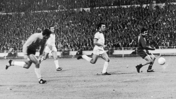 Destiny: George Best nets for United in the 1968 European final