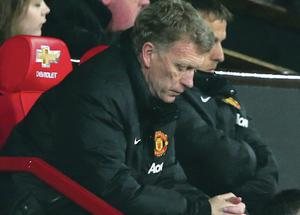 In the spotlight: Losing to Man City has not put David Moyes under threat but defeat to Aston Villa on Saturday will change that