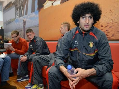 Marouane Fellaini is believed to favour a move to Manchester United