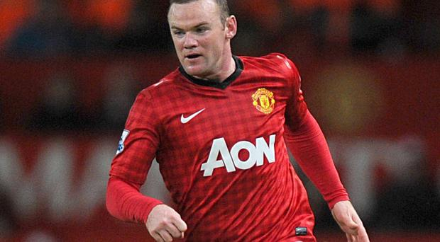 Wayne Rooney has not started a game for United since the 1-1 draw at Arsenal on 28 April