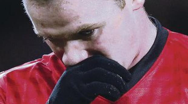 Still needed: Wayne Rooney is central to Manchester United's attack