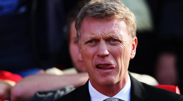 David Moyes: The United manager has downplayed their chances in Europe