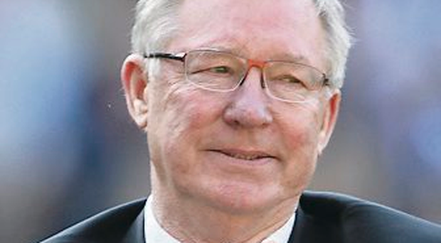No return: Sir Alex Ferguson is enjoying his retirement