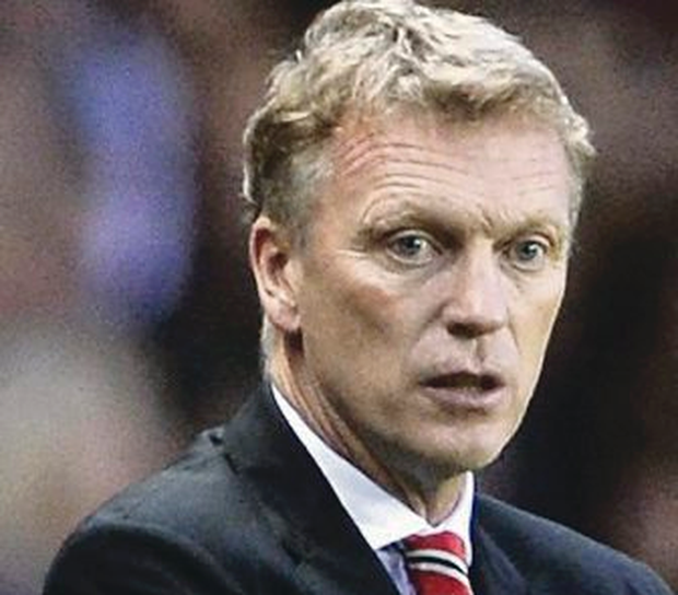 Under pressure: David Moyes has endured a difficult start as boss
