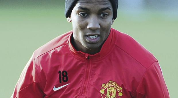 Misfiring: Ashley Young has failed to score since April 2012, and wasted two good opportunities in the midweek win over Shakhtar