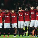 United players watch as their Capital One Cup hopes go up in smoke on Wednesday