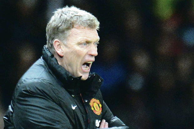 David Moyes' reign at United has stumbled from one disaster to the next