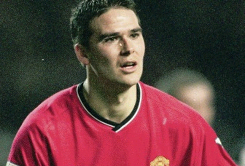 David Healy started his career at Manchester United