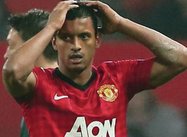 Anderson, now at Fiorentina, believes Nani (pictured) wants to quit Man United despite signing a new five year deal last year