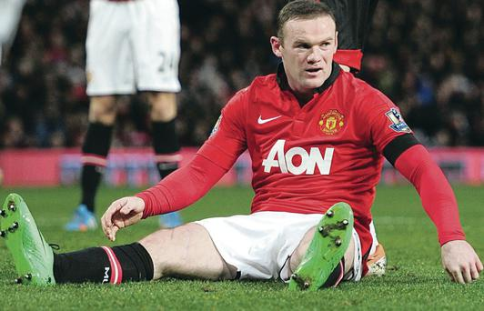 New deal: Wayne Rooney will become the Premier League's leading earner with his new Man United contract