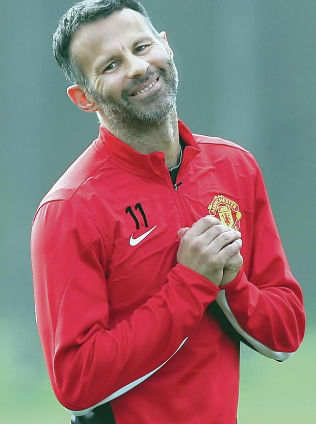 Ryan Giggs could make his final appearance for Manchester United tonight