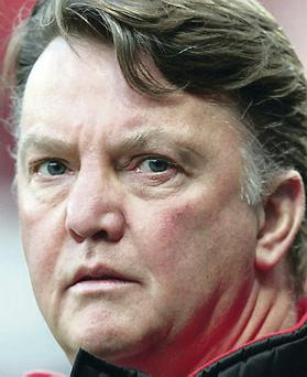 Hot favourite: Louis van Gaal is in line for the Man United job