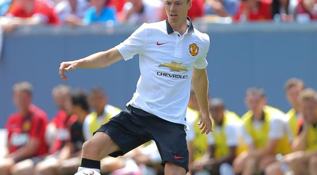 Chance to shine: Jonny Evans is a favourite of new United boss Louis van Gaal