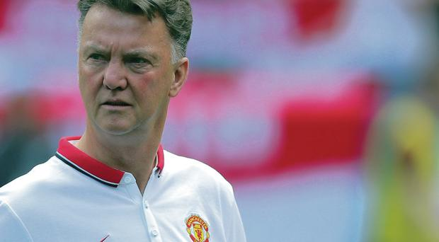 Surprise choice: Louis van Gaal has made Wayne Rooney his first captain at Manchester United