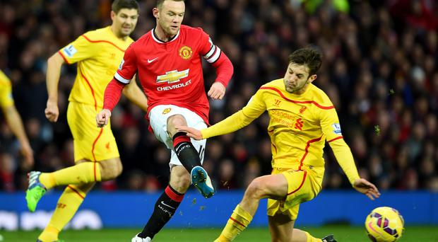 Fight is on: Wayne Rooney and United have their belief back