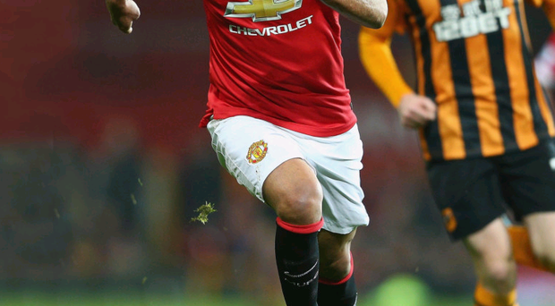 Out to impress: Radamel Falcao has endured a difficult start at Old Trafford