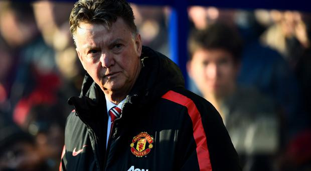 Defiant: Louis van Gaal is ignoring calls from some United fans