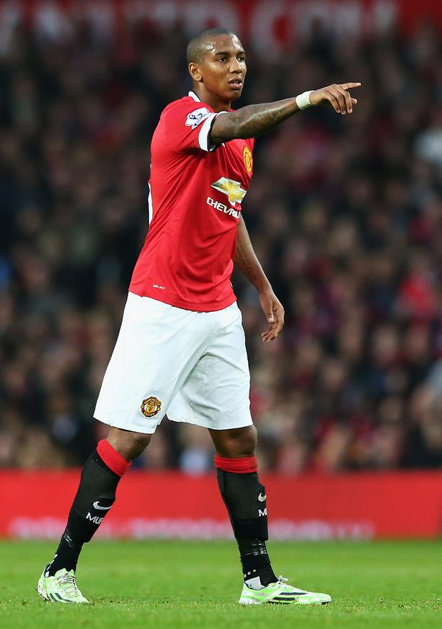 To the point: Ashley Young wants to extend United's one-point Premier League advantage over fierce rivals City