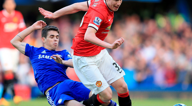 Rave reviews: Paddy McNair avoid Oscar during Man United's defeat to Chelsea