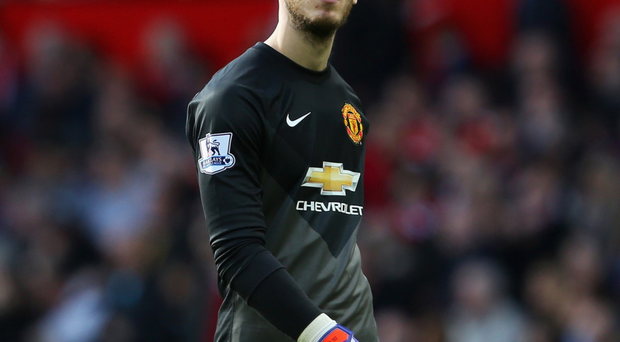 Waiting game: David de Gea is yet to sign a new contract