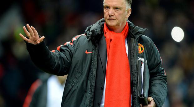 On tour: Louis van Gaal says his side need a fast start