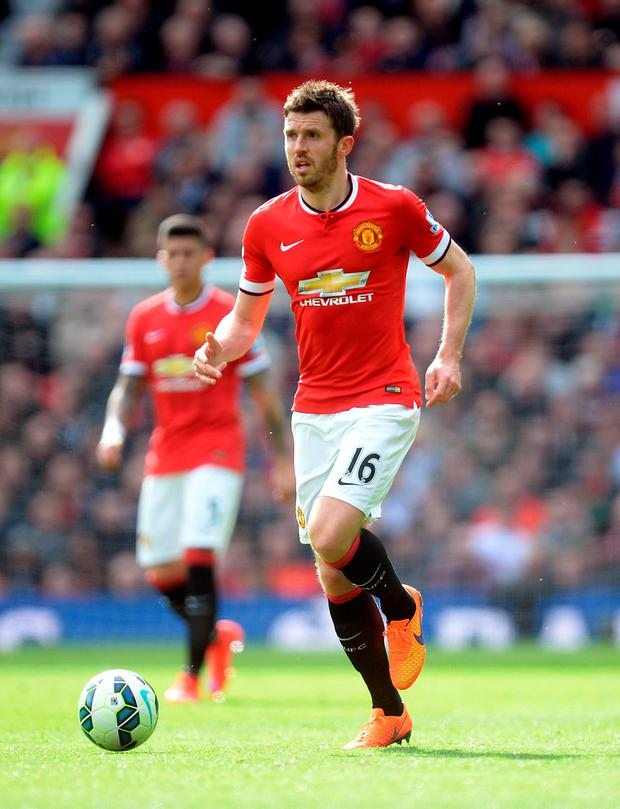 Manchester United's Michael Carrick
